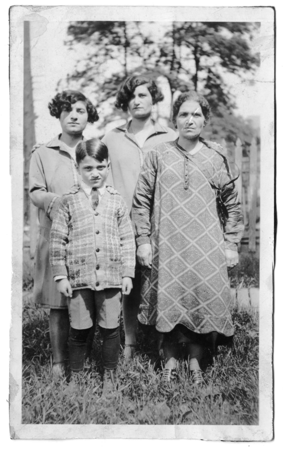 Photograph of Maimon family children