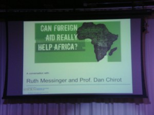 Foreign Aid in Africa Slide