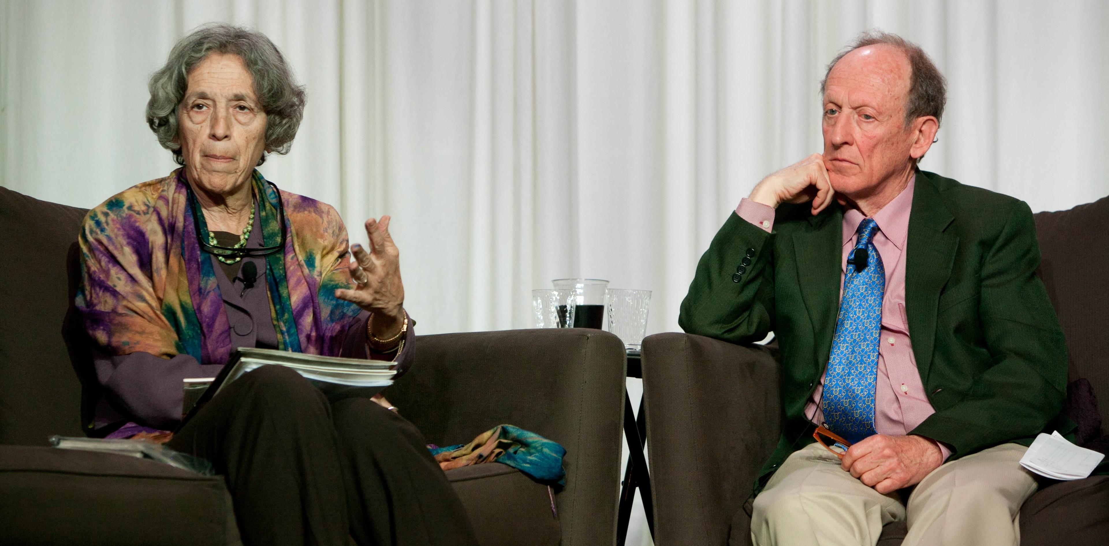 Ruth Messinger and Dan Chirot