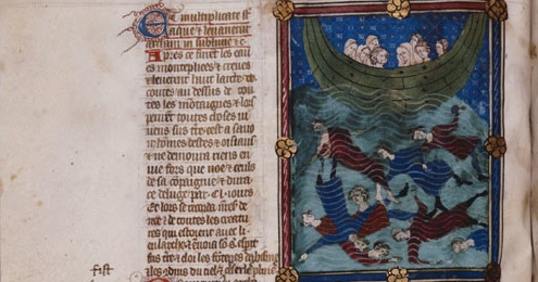 Bible Flood NYPL for Stroup