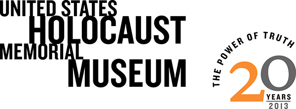 United States Holocaust Museum banner