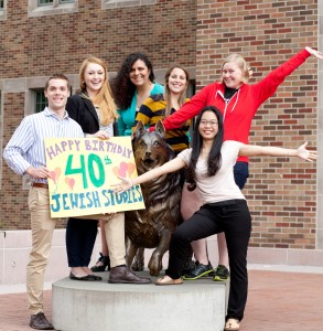 Happy 40th to UW Jewish Studies
