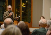 Laurence Salzmann discussed his photography of the Jews of Turkey in an event at Hillel UW sponsored by the Stroum Jewish Studies Program.