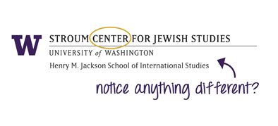Stroum Center for Jewish Studies at UW