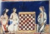 Chess Game from the Medieval Mediterranean