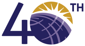 Stroum Center for Jewish Studies 40th Anniversary Logo