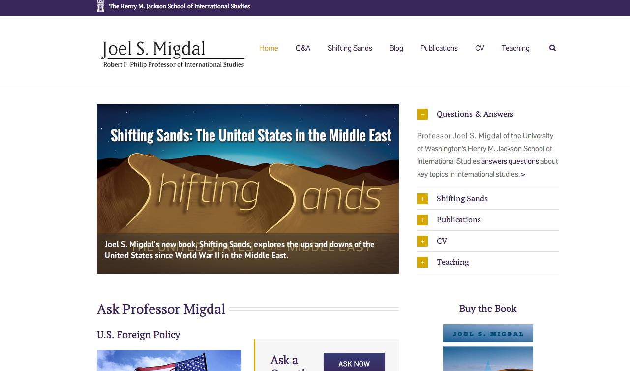 Migdal website screensho