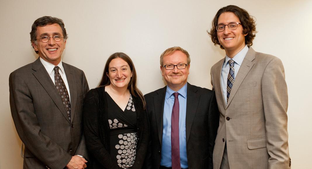 Holocaust Conference participants