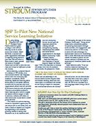2010 Stroum Newsletter Cover