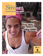 2012 Stroum Newsletter Cover