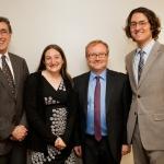Prof. Resat Kasaba, Dr. Leah Wolfson, Prof. Aron Rodrigue, Prof. Devin Naar