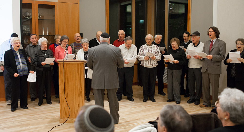Choral reading at International Ladino Day