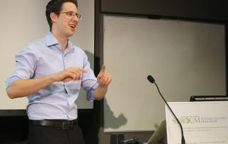Daniel Heller, 2014 Cole Fellow