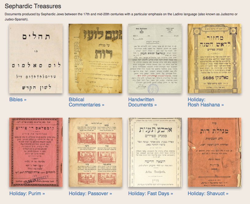 Sephardic Digital Library