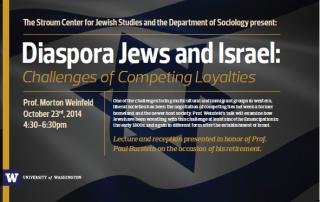 Diaspora Jews and Israel