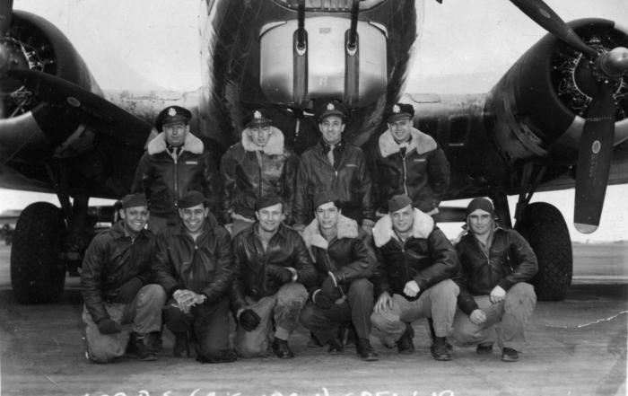 Alhadeff_Ike_600th squadron_1944