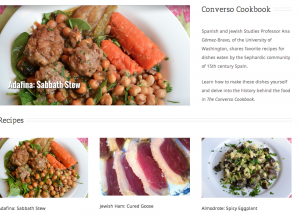 Converso Cookbook Homepage