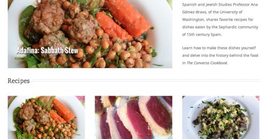 Converso Cookbook Homepage