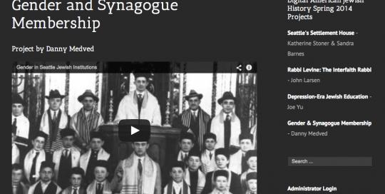 Digital American Jewish History Projects