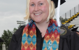 Haley Gustafson graduated in 2014 and is now studying law in Ireland.