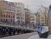Statue of Benedict (Baruch) Spinoza in Amsterdam. Photograph by Serge Ottaviani via Creative Commons.