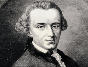 Immanuel Kant, Enlightenment thinker.