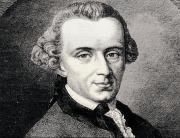 Immanuel Kant, Enlightenment thinker.