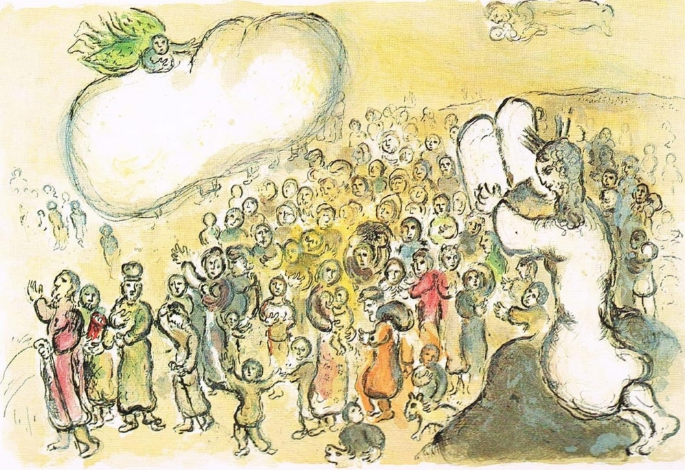 "Marc Chagall's ""The Story of Exodus"" (1966)."