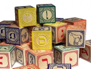 The building blocks of Hebrew literacy: the alef-bet.
