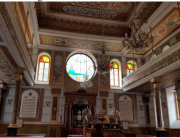 Ariel Vardy won a Jewish Studies Travel Grant to study Jewish identity in the Black Sea region. This synagogue is in Bucharest, Romania.