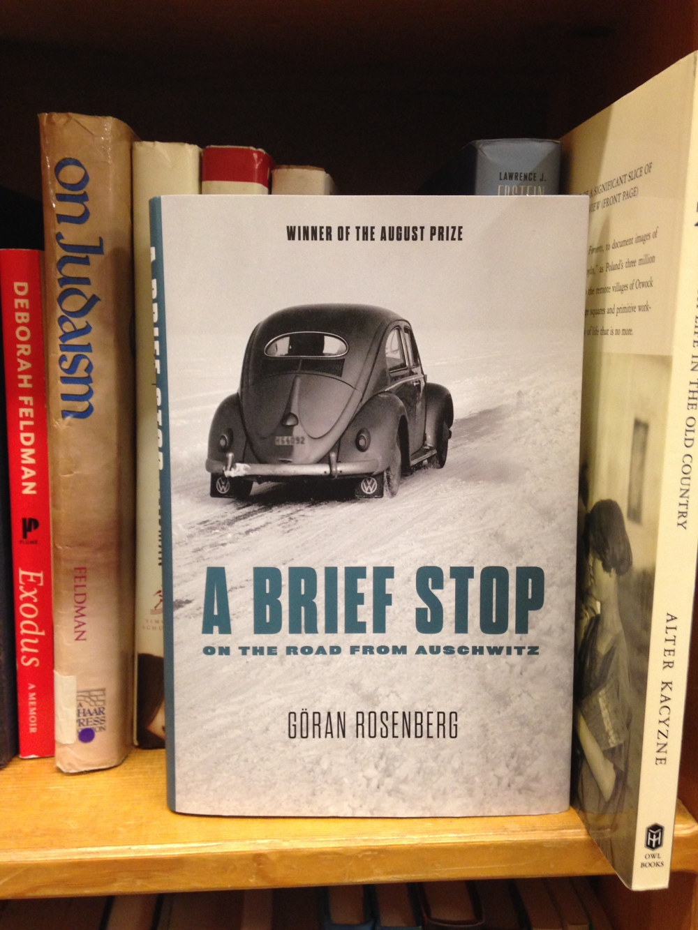 Goran Rosenberg's A Brief Stop on the Road from Auschwitz has found a broad audience in Sweden and around the world. Photograph by Hannah Pressman.