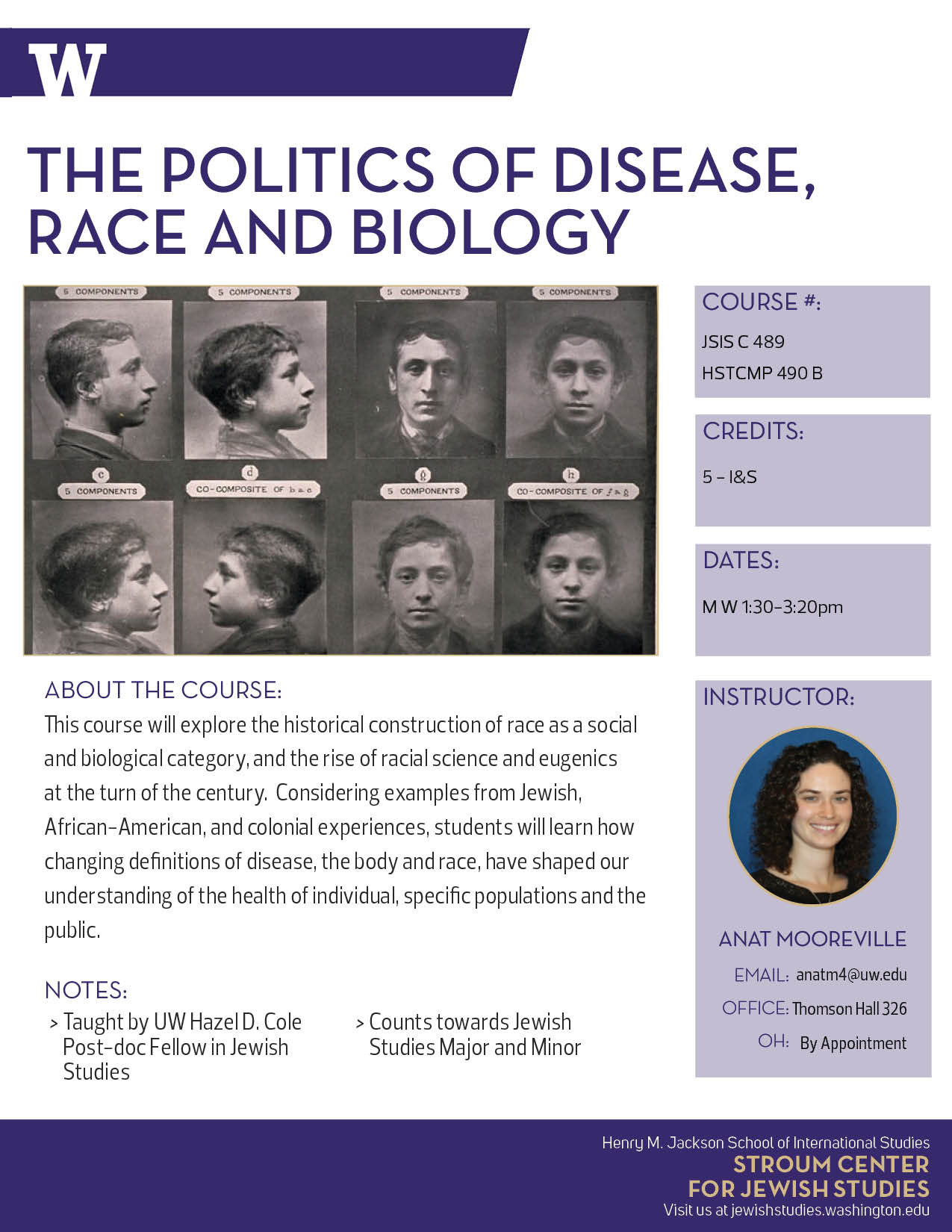 Anat Mooreville - Politics of Disease Race and Biology