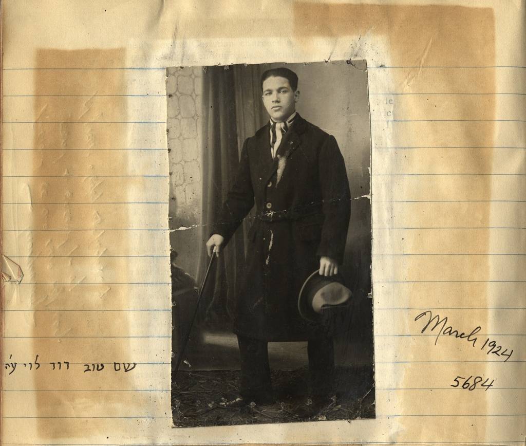 Photo of Albert Levy's brother