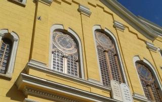 Grand Synagogue of Edirne, Turkey, August 2015. Photo Credit: Berkay Gulen.