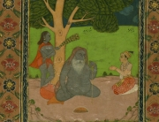 A depiction of the Persian Jewish poet Sarmad, couresty of the Walters Art Museum.