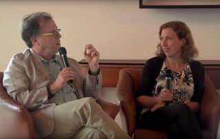 Ilan Stavans and Dara Horn discuss Hebrew in the United States