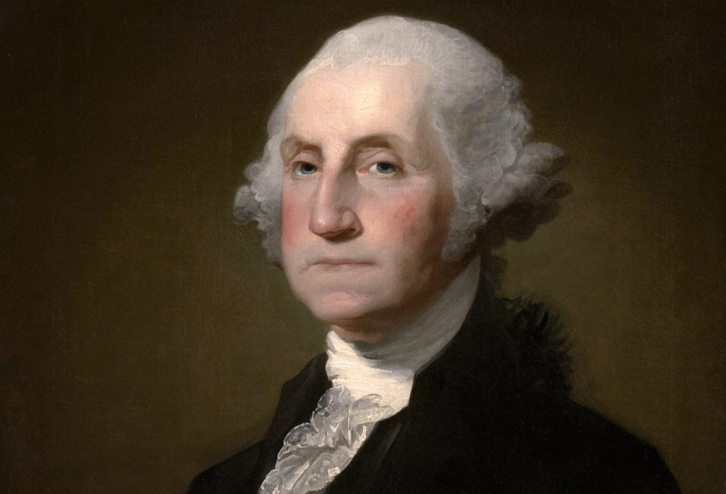George Washington portrait by Gilbert Stuart, 1797. Source: Wikimedia Commons.