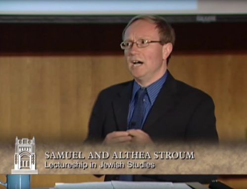Aron Rodrigue: Sephardi Jewries & the Holocaust