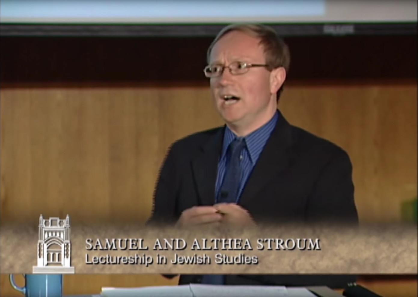 Aron Rodrigue: Sephardi Jewries & the Holocaust