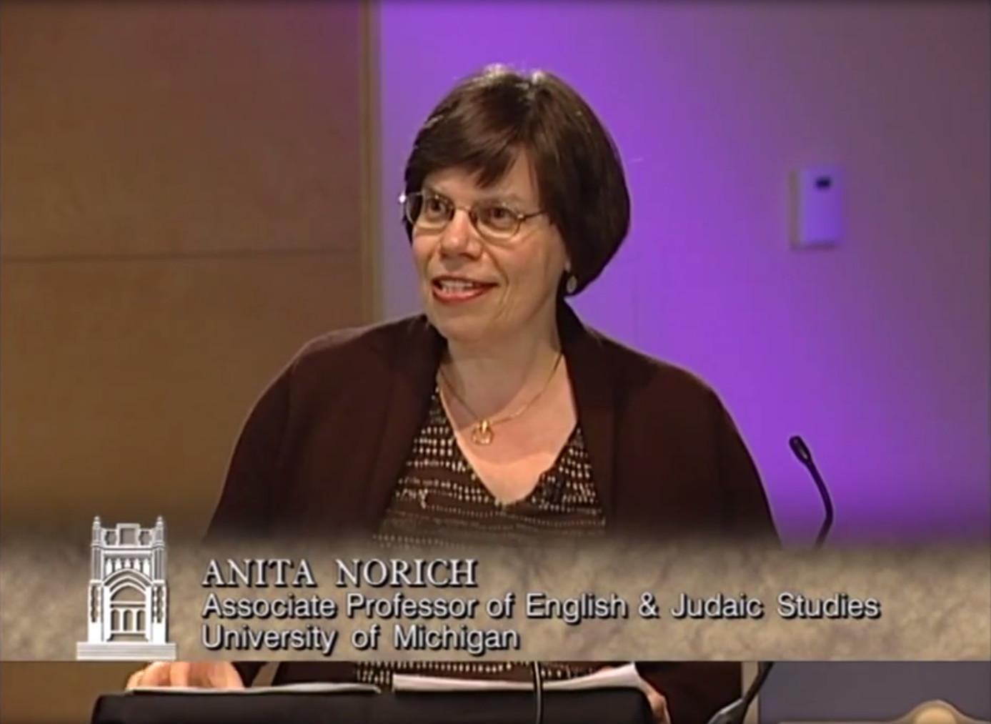 Anita Norich: Translating Yiddish in the 20th Century