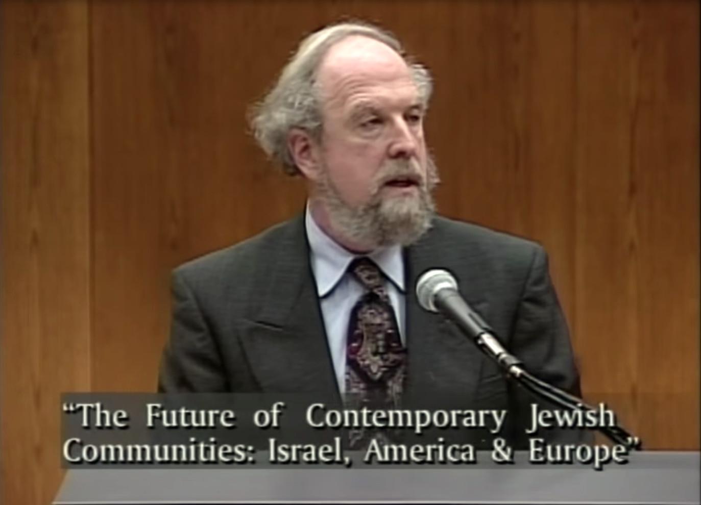 Calvin Goldscheider: Studying the Jewish Future