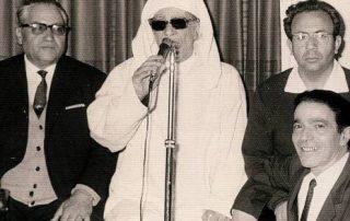 Photo of Rabbi Buzaglo singing