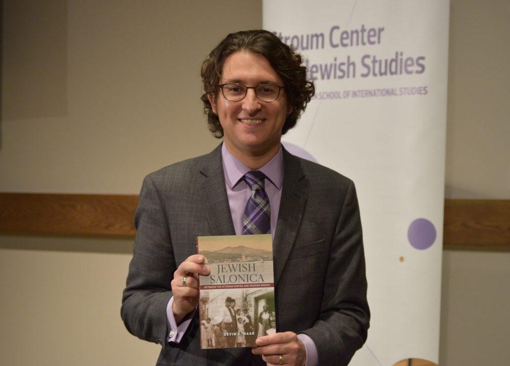 "Devin E. Naar Receives National Book Awards for ""Jewish Salonica"""