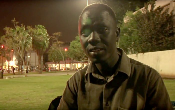 African Migrant in Israel