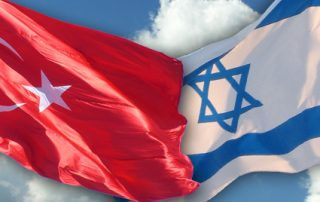 Flag of Turkey and Israel