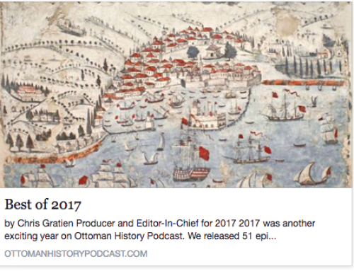 "Prof. Devin Naar's ""Jewish Salonica and the Greek Nation"" tops the 2017 list of best episodes 