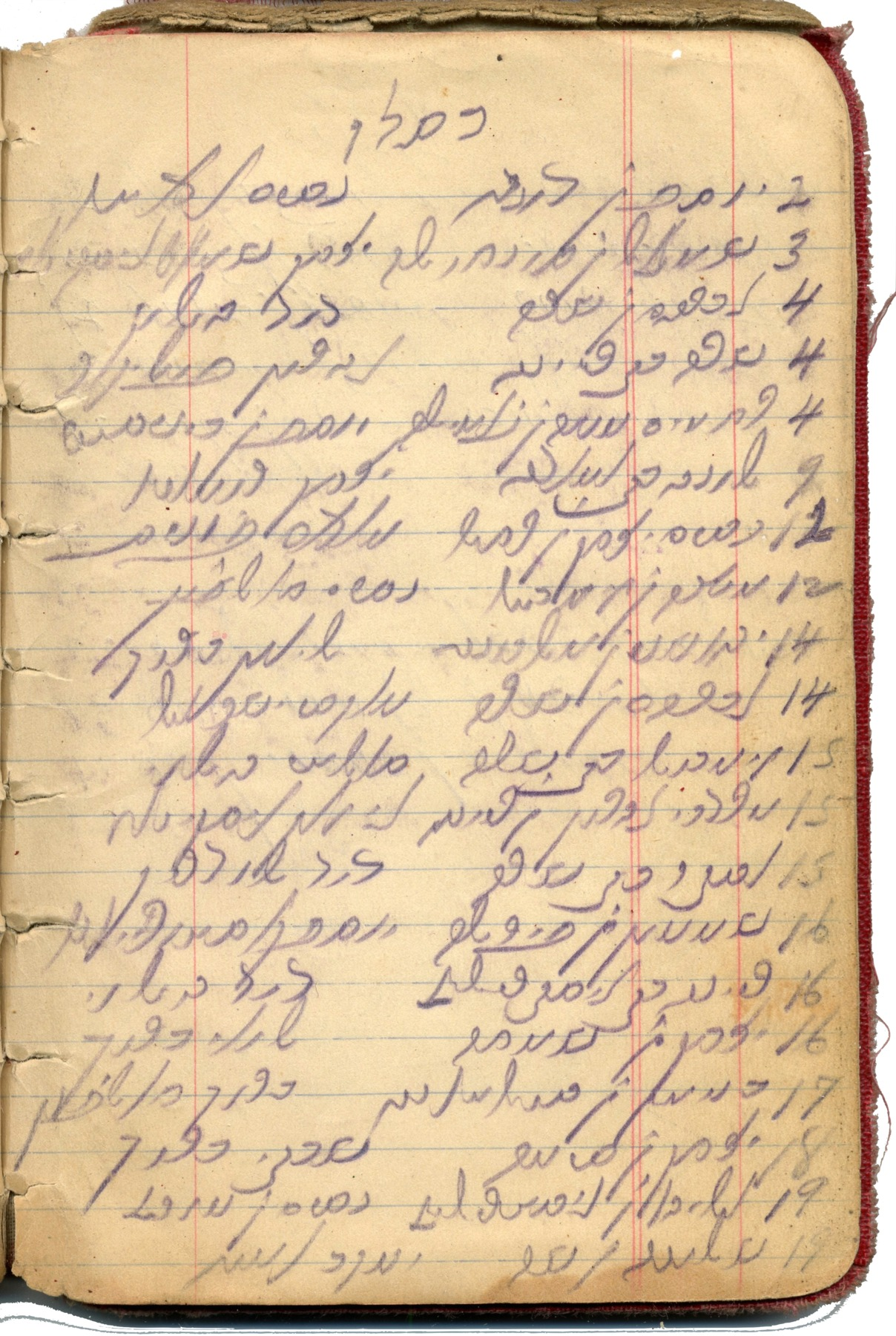 Reverend Morris Scharhon's Book of Meldados