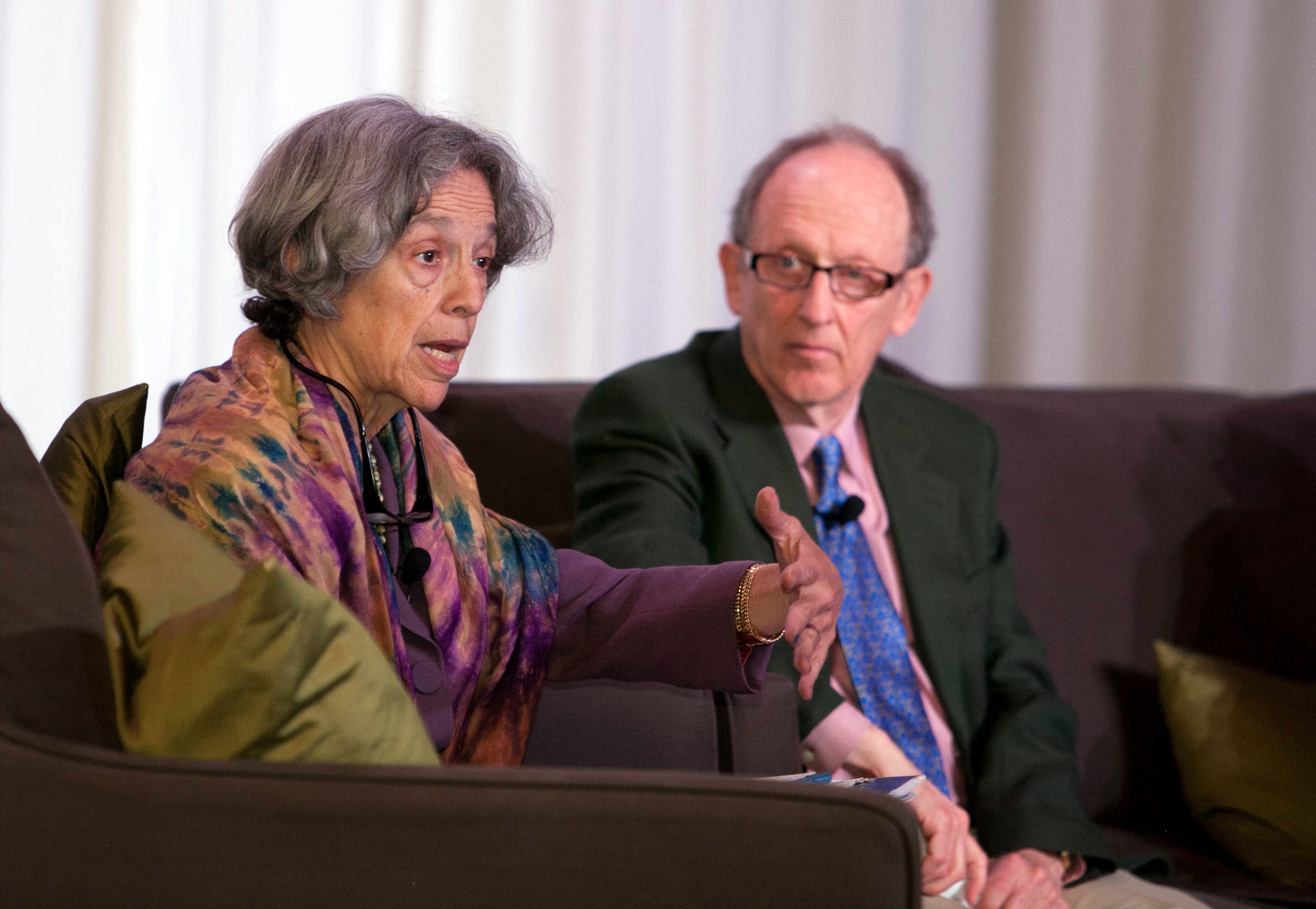 Ruth Messinger & Dan Chirot