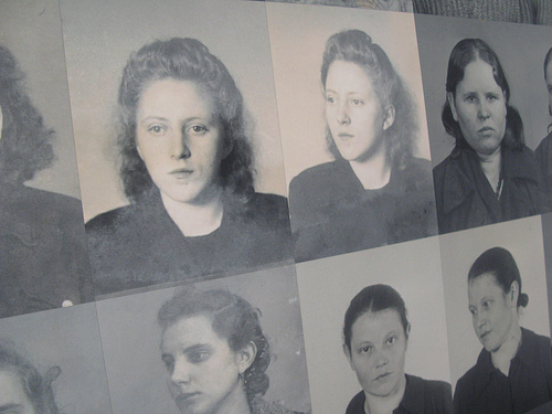 Ravensbruck Holocaust museum image