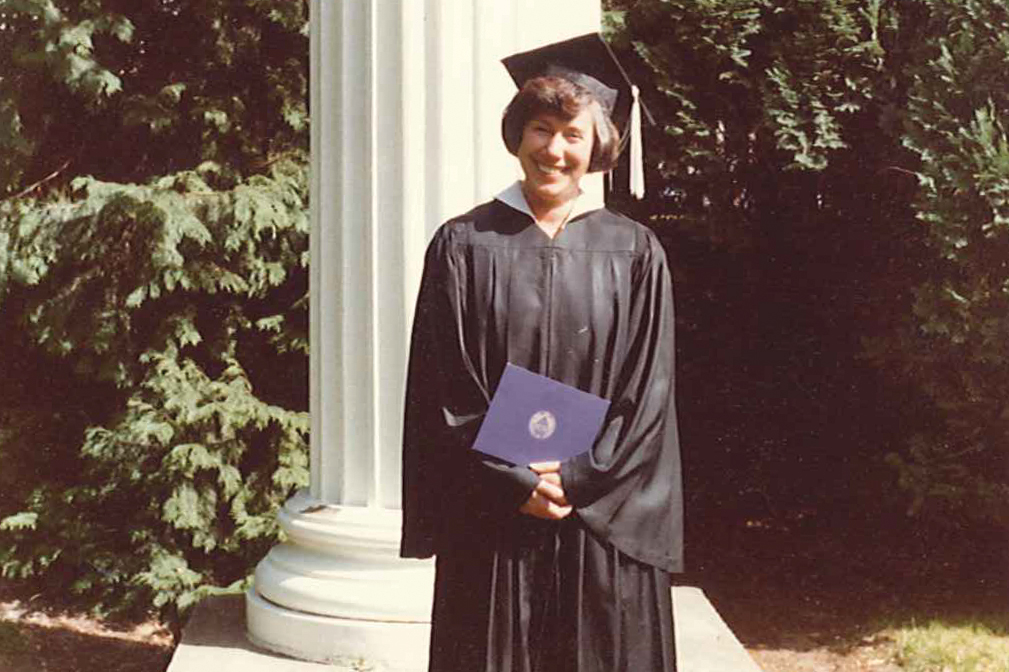 One of the first Jewish Studies majors at the University of Washington.